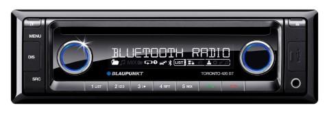 Autoradio Blaupunkt Toronto 440BT mit Bluetooth