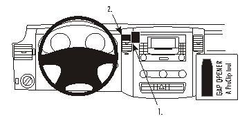 213456 Autohalterung Mercedes Benz Sprinter