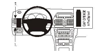 803213 Autohalterung Toyota Avensis