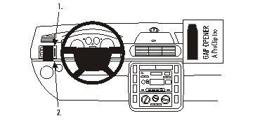 803292 Autohalterung Ford Galaxy