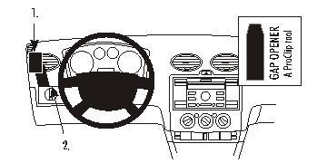 803725 Autohalterung Ford Focus