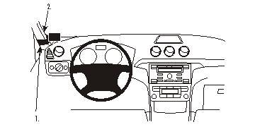 803908 Autohalterung Ford Galaxy