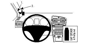 804282 Autohalterung Toyota Avensis