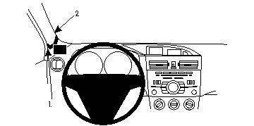 804353 Autohalterung Mazda 3