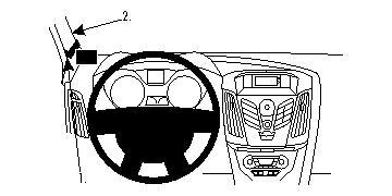 9//95 RAU Fussmatten ACTION schwarz für Nissan Almera N15 ab Bj