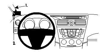 804624 Autohalterung Mazda 5