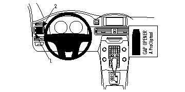 804674 Autohalterung Volvo S80