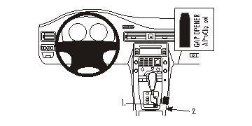 833871 Autohalterung Volvo S80