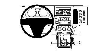 834170 Autohalterung Mazda 6