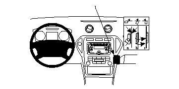 854056 Autohalterung Ford Mondeo