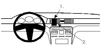 ProClip Mitsubishi Sigma 91-96
