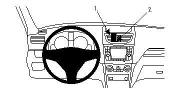 ProClip Suzuki Swift 11-14