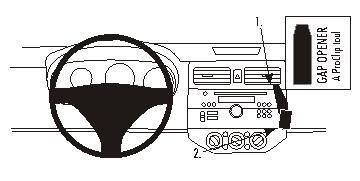 853664 Autohalterung Suzuki Swift