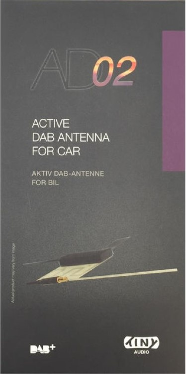 AD02 Glasklebe DAB+ Antenne